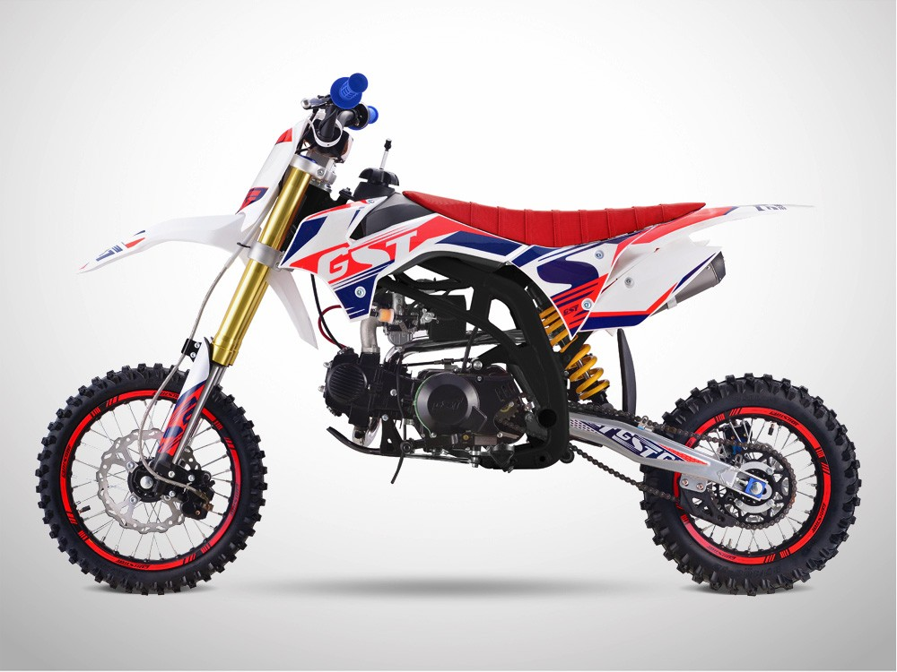 Pit Bike GUNSHOT 125 ONE 2019 - Profil Gauche